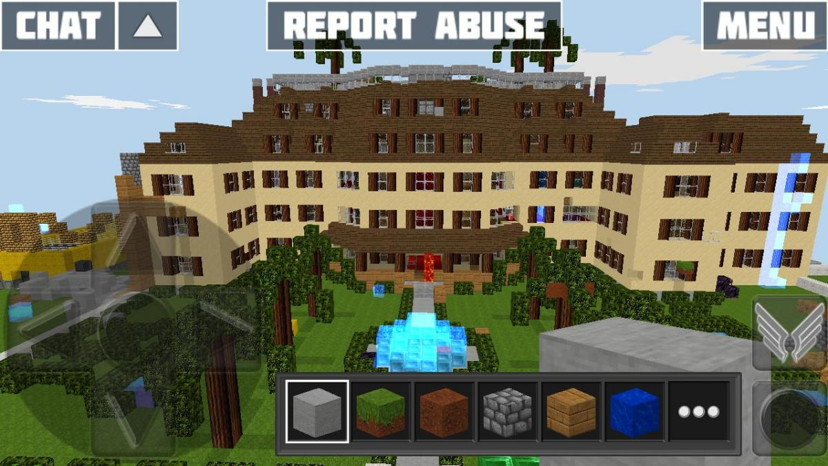 Big house from novicity map world of cubes for Big houses in the world